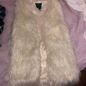 Ralph Lauren fuzzy vest